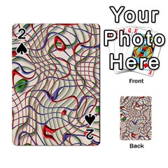 Ribbon Chaos 2 Playing Cards 54 Designs