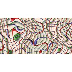 Ribbon Chaos 2 YOU ARE INVITED 3D Greeting Card (8x4)
