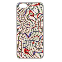 Ribbon Chaos 2 Apple Seamless iPhone 5 Case (Clear)