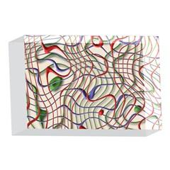 Ribbon Chaos 2 4 x 6  Acrylic Photo Blocks