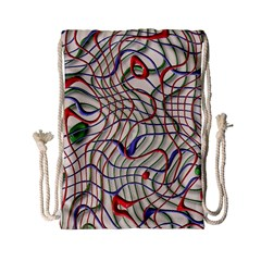 Ribbon Chaos 2 Drawstring Bag (small)
