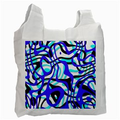 Ribbon Chaos Ocean Recycle Bag (One Side)
