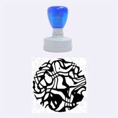 Ribbon Chaos Ocean Rubber Round Stamps (Medium)