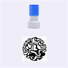 Ribbon Chaos Ocean Rubber Round Stamps (small)