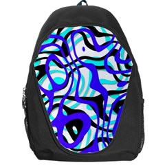 Ribbon Chaos Ocean Backpack Bag
