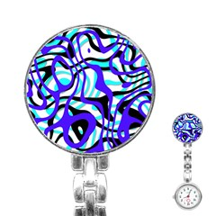 Ribbon Chaos Ocean Stainless Steel Nurses Watches