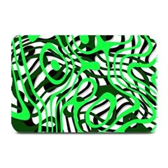 Ribbon Chaos Green Plate Mats
