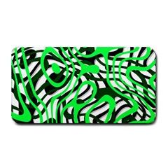 Ribbon Chaos Green Medium Bar Mats