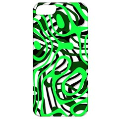 Ribbon Chaos Green Apple iPhone 5 Classic Hardshell Case