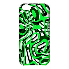 Ribbon Chaos Green Apple iPhone 5C Hardshell Case