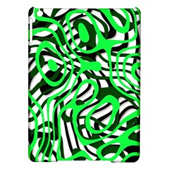 Ribbon Chaos Green iPad Air Hardshell Cases