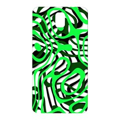 Ribbon Chaos Green Samsung Galaxy Note 3 N9005 Hardshell Back Case