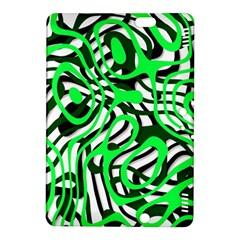 Ribbon Chaos Green Kindle Fire HDX 8.9  Hardshell Case