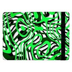 Ribbon Chaos Green Samsung Galaxy Tab Pro 12.2  Flip Case