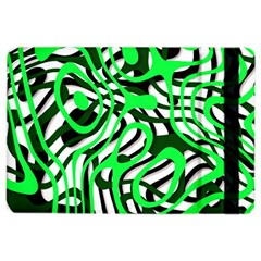 Ribbon Chaos Green iPad Air 2 Flip