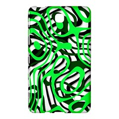 Ribbon Chaos Green Samsung Galaxy Tab 4 (7 ) Hardshell Case