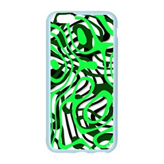 Ribbon Chaos Green Apple Seamless iPhone 6/6S Case (Color)