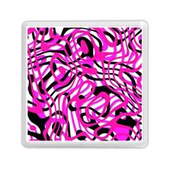 Ribbon Chaos Pink Memory Card Reader (Square)