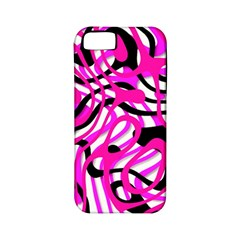 Ribbon Chaos Pink Apple iPhone 5 Classic Hardshell Case (PC+Silicone)