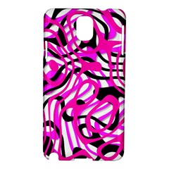 Ribbon Chaos Pink Samsung Galaxy Note 3 N9005 Hardshell Case