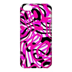 Ribbon Chaos Pink Apple iPhone 5C Hardshell Case