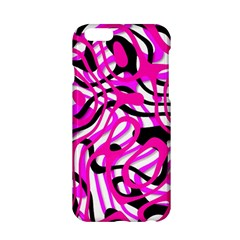 Ribbon Chaos Pink Apple Iphone 6/6s Hardshell Case