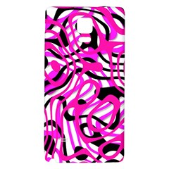 Ribbon Chaos Pink Galaxy Note 4 Back Case