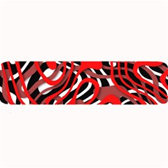 Ribbon Chaos Red Large Bar Mats