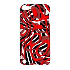 Ribbon Chaos Red Apple iPod Touch 5 Hardshell Case
