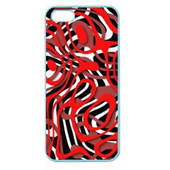 Ribbon Chaos Red Apple Seamless iPhone 5 Case (Color)