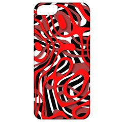 Ribbon Chaos Red Apple iPhone 5 Classic Hardshell Case