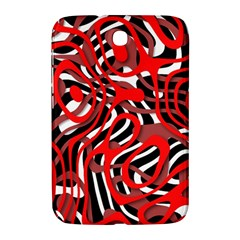 Ribbon Chaos Red Samsung Galaxy Note 8.0 N5100 Hardshell Case