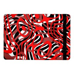 Ribbon Chaos Red Samsung Galaxy Tab Pro 10 1  Flip Case