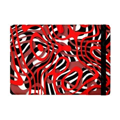 Ribbon Chaos Red iPad Mini 2 Flip Cases