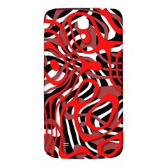 Ribbon Chaos Red Samsung Galaxy Mega I9200 Hardshell Back Case