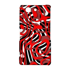 Ribbon Chaos Red Sony Xperia Z3 Compact