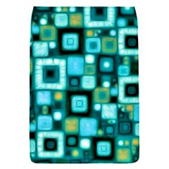 Teal Squares Flap Covers (S)