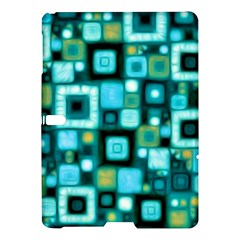 Teal Squares Samsung Galaxy Tab S (10 5 ) Hardshell Case