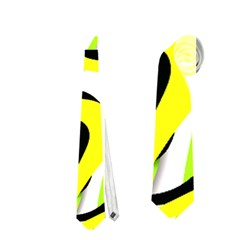 Ribbon Chaos Yellow Neckties (one Side)