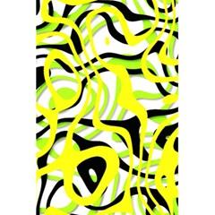 Ribbon Chaos Yellow 5.5  x 8.5  Notebooks
