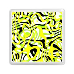 Ribbon Chaos Yellow Memory Card Reader (Square)