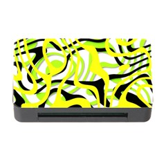 Ribbon Chaos Yellow Memory Card Reader with CF