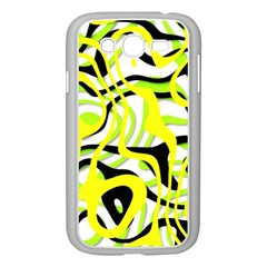 Ribbon Chaos Yellow Samsung Galaxy Grand Duos I9082 Case (white)