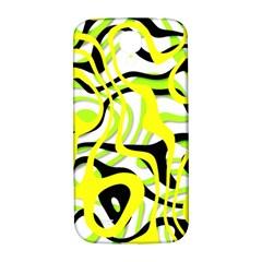 Ribbon Chaos Yellow Samsung Galaxy S4 I9500/I9505  Hardshell Back Case