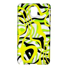 Ribbon Chaos Yellow Samsung Galaxy Note 3 N9005 Hardshell Case