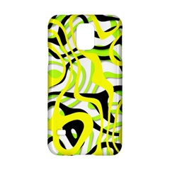 Ribbon Chaos Yellow Samsung Galaxy S5 Hardshell Case