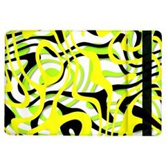 Ribbon Chaos Yellow iPad Air Flip