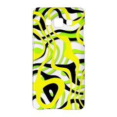 Ribbon Chaos Yellow Samsung Galaxy A5 Hardshell Case