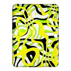 Ribbon Chaos Yellow Samsung Galaxy Tab 4 (10 1 ) Hardshell Case