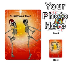 Dancing For Christmas, Funny Skeletons Multi-purpose Cards (Rectangle)